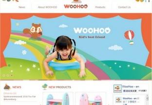 憲毅企業股份有限公司 WOOHOO品牌網站設計