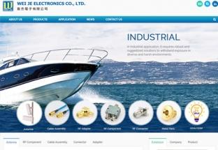 韋杰電子有限公司 響應式網站設計,網頁設計專案,客製化搜尋,條件搜尋,關聯搜尋